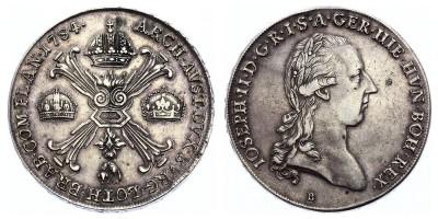 1kronenthaler 1784 B