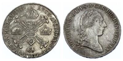 1/2kronenthaler(coroatáler) 1788 A