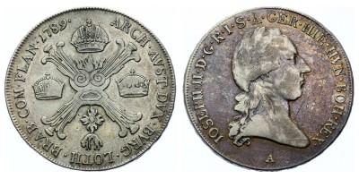 1/2kronenthaler(coroatáler) 1789 A