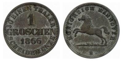 1groschen 1866