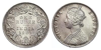 1rupee 1901