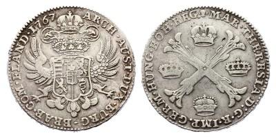 1kronenthaler(coroatáler) 1767