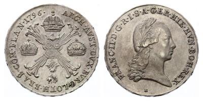 1kronenthaler(coroatáler) 1796 B