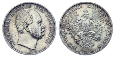 1vereinsthaler 1866 A