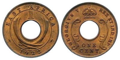1cent 1922 H