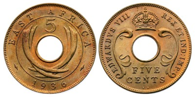 5cents 1936 KN