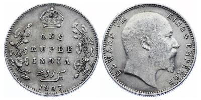 1rupee 1907 B