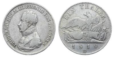 1thaler 1819 D