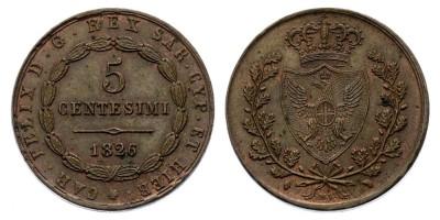 5centesimi 1826 L