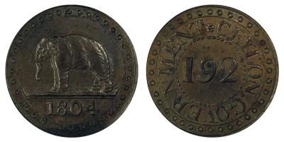 1/192rixdollar 1804