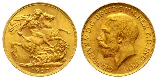 1 sovereign 1927