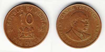 10 cents 1995