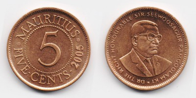 5 cents 2005