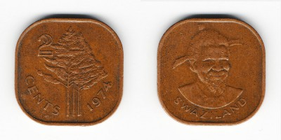 2 cents 1974