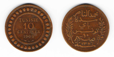 10 centimes 1908