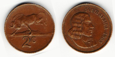 2 cents 1965