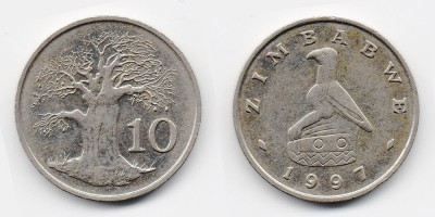 10 cents 1997