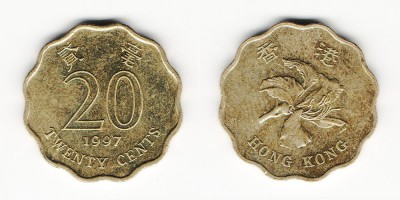 20 cents 1997