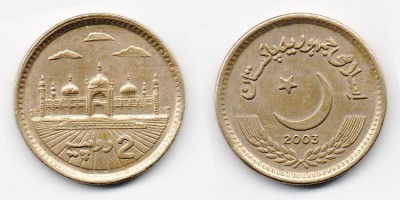 2 rupees 2003
