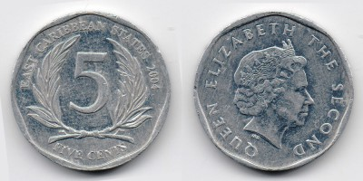 5 cents 2004
