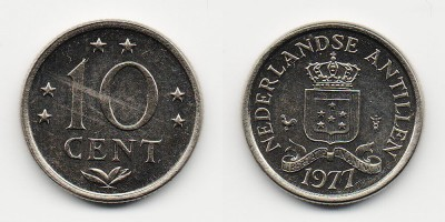 10 cents 1977