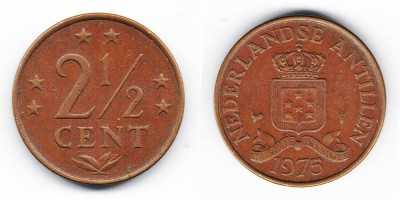 2½ cents 1975