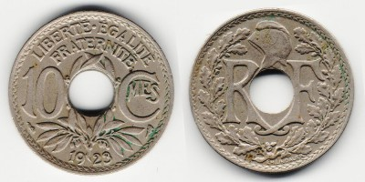 10 centimes 1923