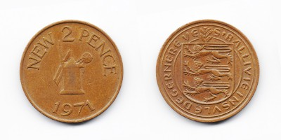 2 new pence 1971