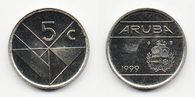 5 cents 1999