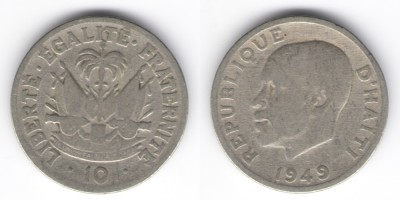 10 centimes 1949