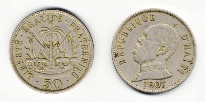 50 centimes 1907