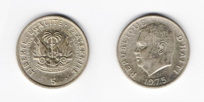 5 centimes 1975