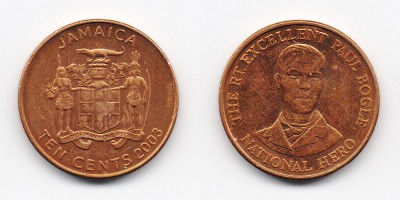 10 cents 2003