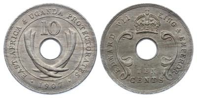10cents 1907