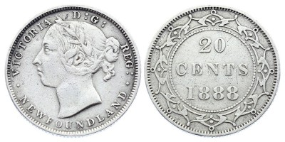 20cents 1888